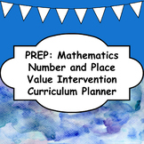 Number and Place Value Intervention - Prep/Foundation/Kindergarten