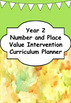 Number and Place Value Intervention - Year 2