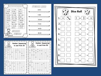Number and Place Value Worksheet Bundle Pack