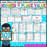 Number and Place Value Worksheet Pack - Year One