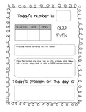 Number and Problem of the Day