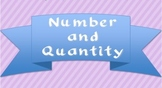 Number and Quantity CCSS checklist (trimesters)