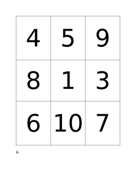 Number and Quantity Match- Beginner