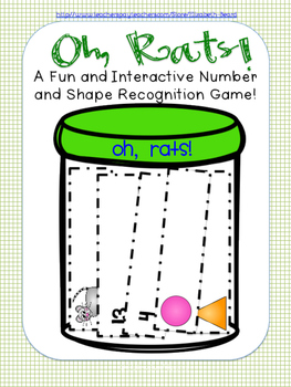 Number and Shape Recognition Game: Oh, Rats!
