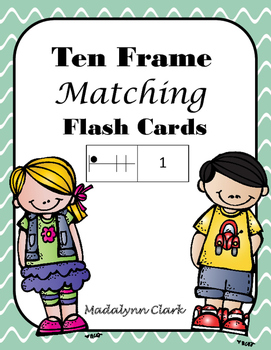 Number and Ten Frame Matching Cards