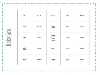 Number Sense Fluency 0-10