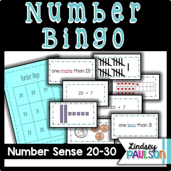 Number Sense Fluency 20-30