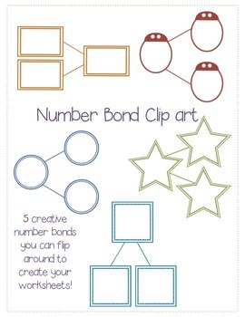 Number bond clip art!