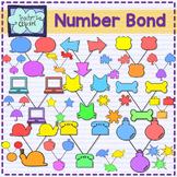100 Number bond clipart - Color code
