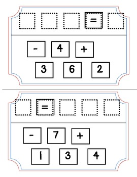 Number bonds, Part Part Whole, and Equations Puzzlers