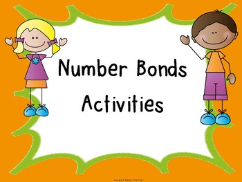 Number bonds activities