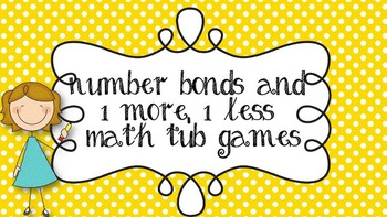 Number bonds math tub games