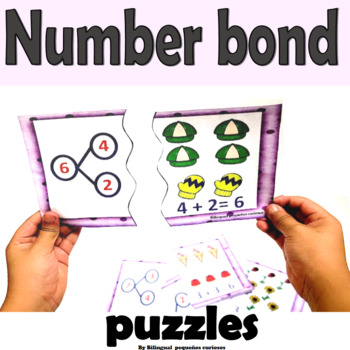 Number bonds puzzles
