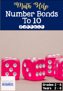 Number bonds to 10 - differentiated
