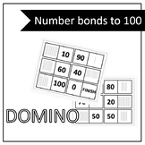 Number bonds to 100 DOMINO