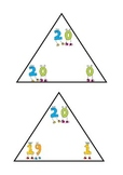 Number bonds to 20 triangles
