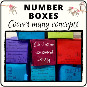 Number boxes used as an assessment tool