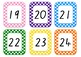 Number cards 1-120