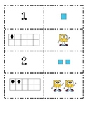 Number cards Common Core: Match 5 ways