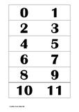 Number cards *Freebie*