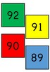 Number cards from 1-100