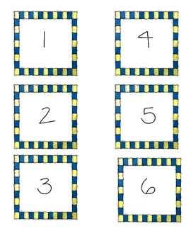Number cards to 30