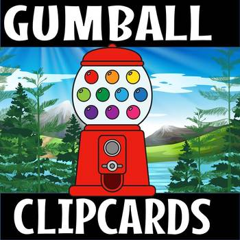 Number clipcards-Gumball theme