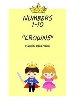 Number crowns 1-10