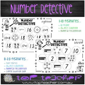 Number detective 1-20