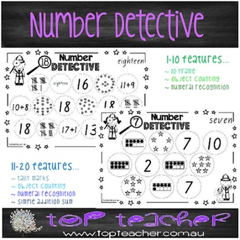 Number detective 1-20