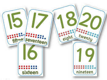 Number displays ~ 4 different designs