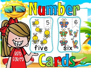 Number flashcards(50% off for 48 hours)