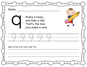 Number formation poem sheets {SUPER CUTE!} - 0-9!!