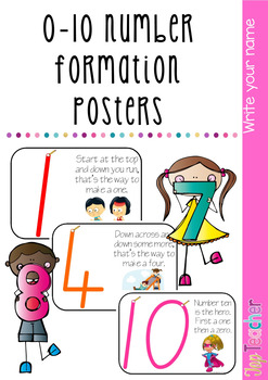 Number formation poems 1-10