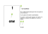 Montessori Early Math - Number freeze / Flash cards 1 to 10