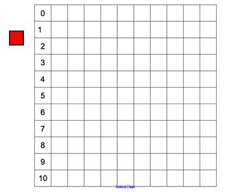 Number grid- smartboard