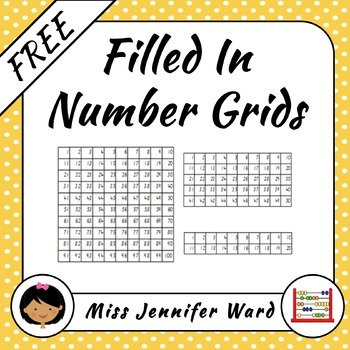 Number Grids FREE