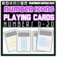 NUMBER ICON PLAYING CARDS