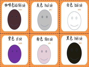 Chinese thematic unit:Colors