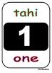 Number knowledge Maori and English