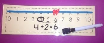 Number line  0-10 (Dry erase)