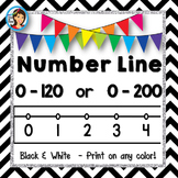 Number Line (black and white)
