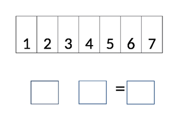 Number line Addition/Subtraction for Special Needs Leaners