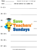 Number Line Addition and Subtraction Lesson Plans, Worksheets and More