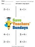 Number Line Addition Lesson Plans, Worksheets and More