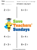 Number Line Addition Worksheets (4 levels of difficulty)