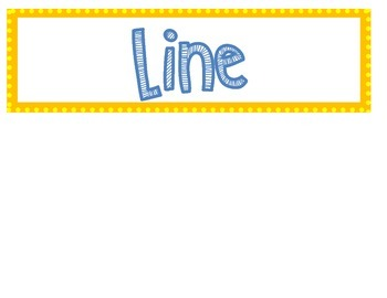 Number line cards and questions for group work