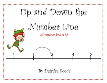 Number line to 20 - Elf Edition