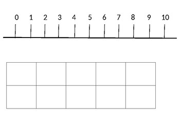Number line with 10 frames - 120