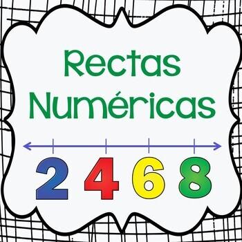 Rectas Numericas, Number lines